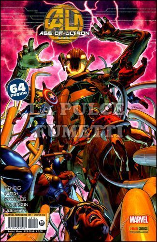 MARVEL MINISERIE #   144 - AGE OF ULTRON 6 (DI 6) - COVER A ULTRON