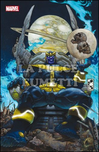 MARVEL WORLD #    19 - L'ASCESA DI THANOS 1 - VARIANT COVER METALLIZZATA - MARVEL NOW!