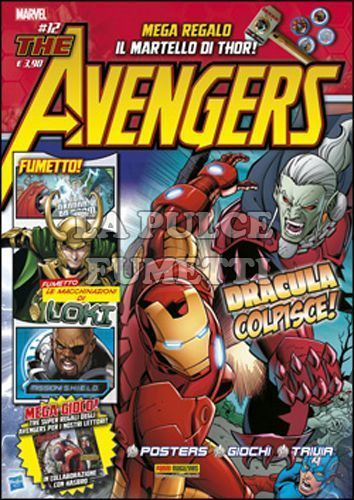 MARVEL ADVENTURES #    21 - AVENGERS MAGAZINE 12