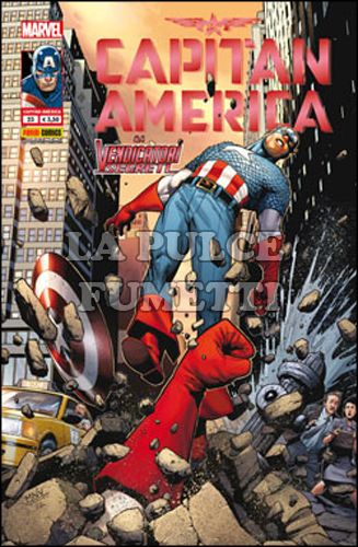 CAPITAN AMERICA #    23 - E I VENDICATORI SEGRETI + AVENGERS CARD: CAPTAIN AMERICA