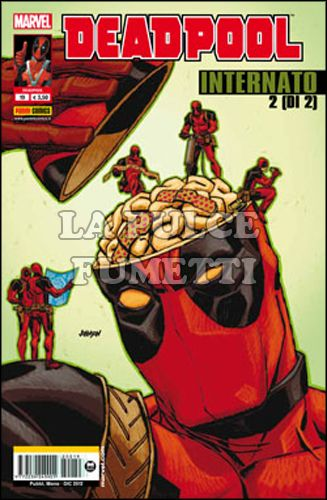 DEADPOOL #    19 - INTERNATO 2 (DI 2)