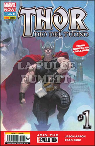 THOR #   171 - THOR, DIO DEL TUONO 1 - COVER A - MARVEL NOW!