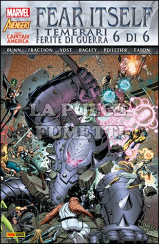 MARVEL WORLD #    14 - FEAR ITSELF: I TEMERARI / FERITE DI GUERRA 6