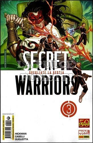 MARVEL MIX #    90 - SECRET WARRIORS  3