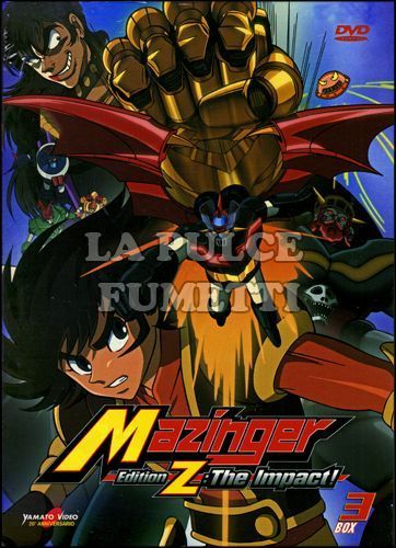 MAZINGER EDITION Z: THE IMPACT! #     3 - EPISODI 19/26 - 2 DISCHI