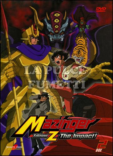 MAZINGER EDITION Z: THE IMPACT! #     2 - EPISODI 10/18 - 2 DISCHI