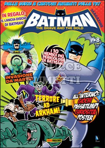 PANINI PLAY #    17 - BATMAN THE BRAVE AND THE BOLD MAGAZINE 8