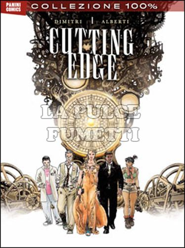 100% PANINI COMICS - CUTTING EDGE #     1
