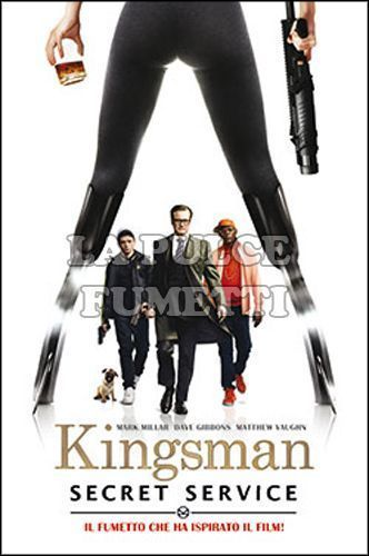 MILLARWORLD COLLECTION - KINGSMAN - SECRET SERVICE - DELUXE