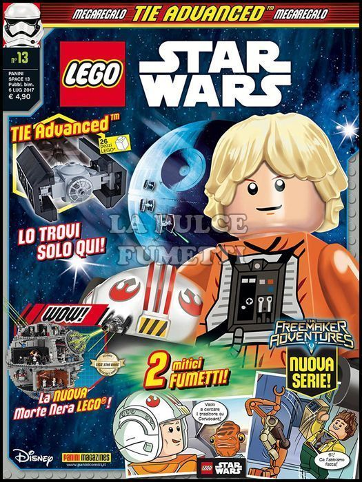 PANINI SPACE #    13 - LEGO STAR WARS 13