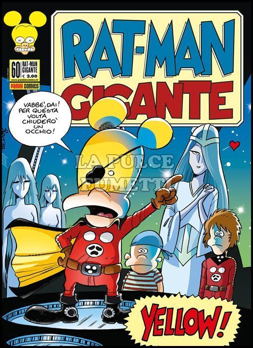 RAT-MAN GIGANTE #    60: YELLOW!