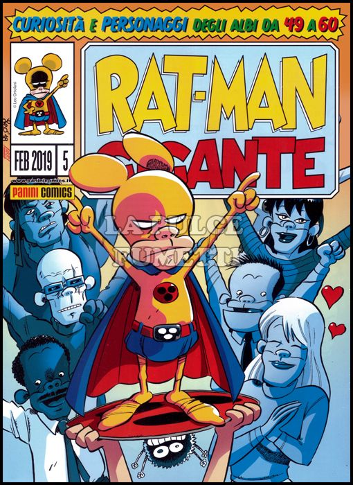 RAT-MAN GIGANTE COFANETTO VUOTO #     5 - RAT-MAN GIGANTE 49/60