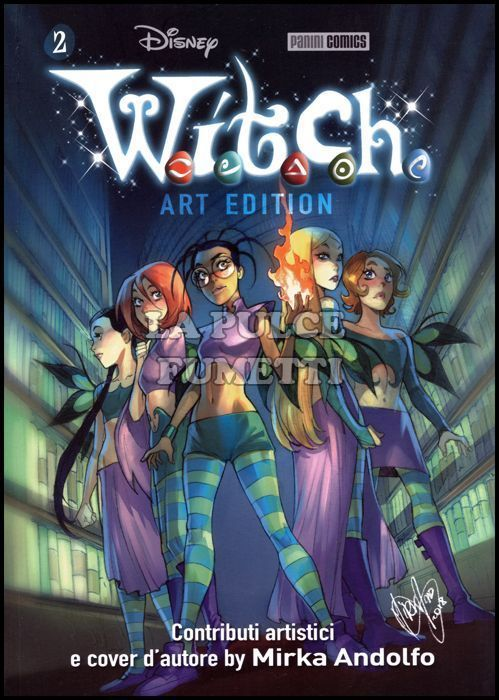 W.I.T.C.H. - ART EDITION #     2 - WITCH