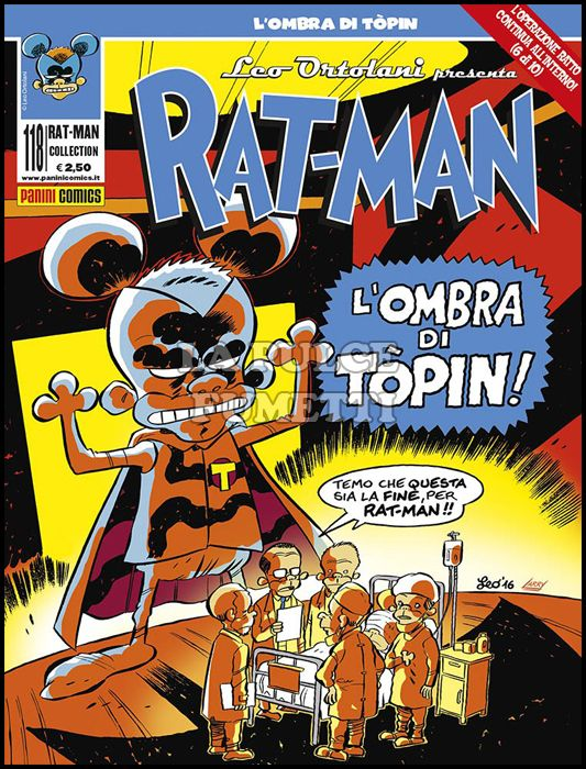 RAT-MAN COLLECTION #   118: L'OMBRA DI TOPIN! - OPERAZIONE RATTO 6 DI 10