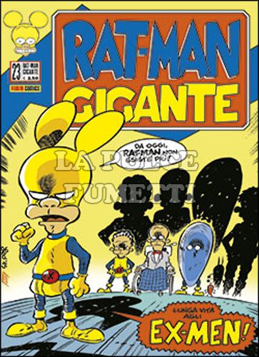 RAT-MAN GIGANTE #    23: EX-MEN