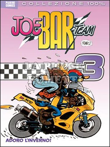 100% PANINI COMICS - JOE BAR TEAM 3: ADORO L'INVERNO!