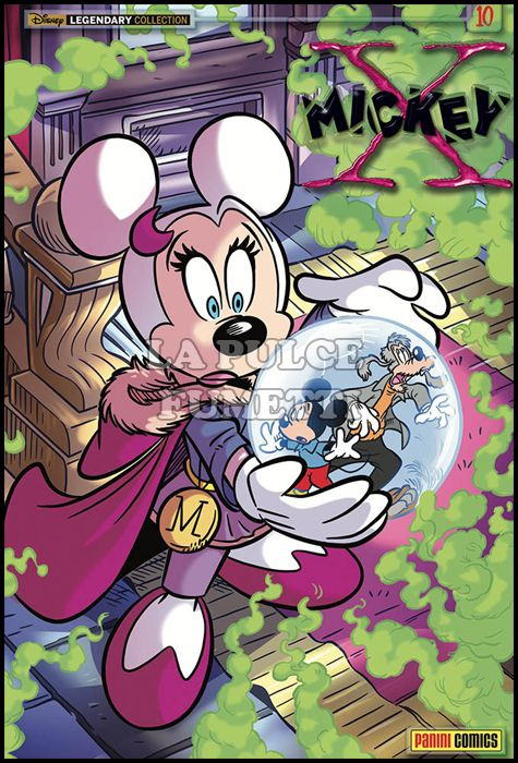 DISNEY LEGENDARY COLLECTION #    19 - X-MICKEY 10
