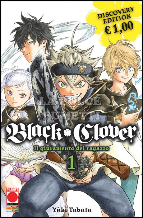 MANGA LAND #    26 - BLACK CLOVER 1 - DISCOVERY EDITION