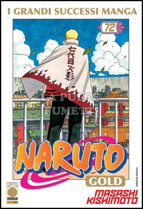 NARUTO GOLD DELUXE #    72