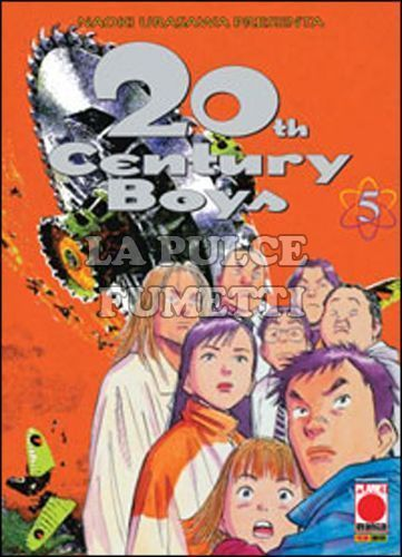 20TH CENTURY BOYS #     5 3A RISTAMPA