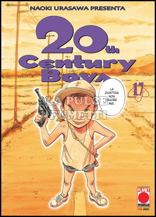 20TH CENTURY BOYS #    17 2A RISTAMPA