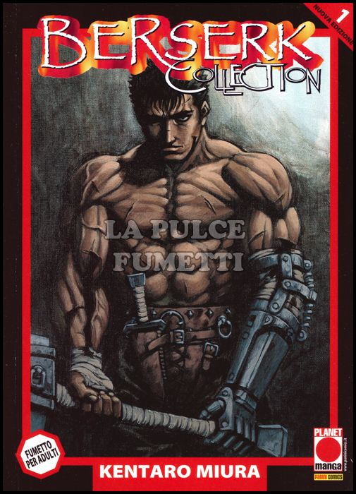 BERSERK COLLECTION #     1 SERIE NERA - 5A RISTAMPA