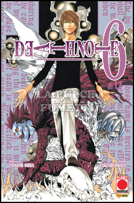 DEATH NOTE #     6 5A RISTAMPA