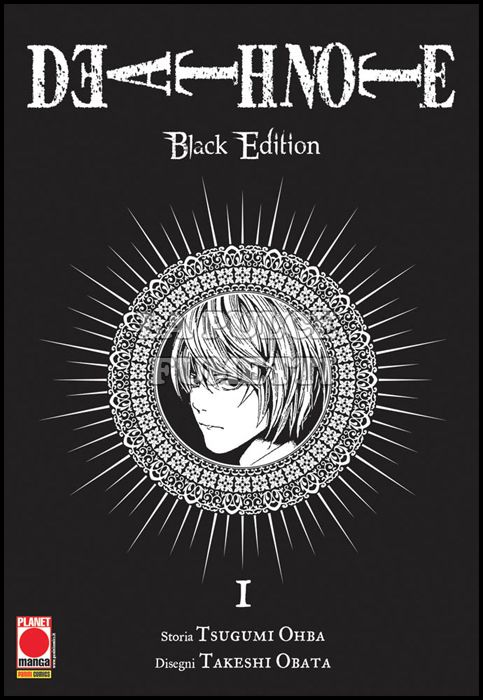 DEATH NOTE BLACK EDITION #     1 - 5A RISTAMPA