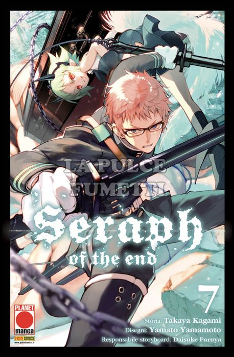 ARASHI #    14 - SERAPH OF THE END 7 - 1A RISTAMPA