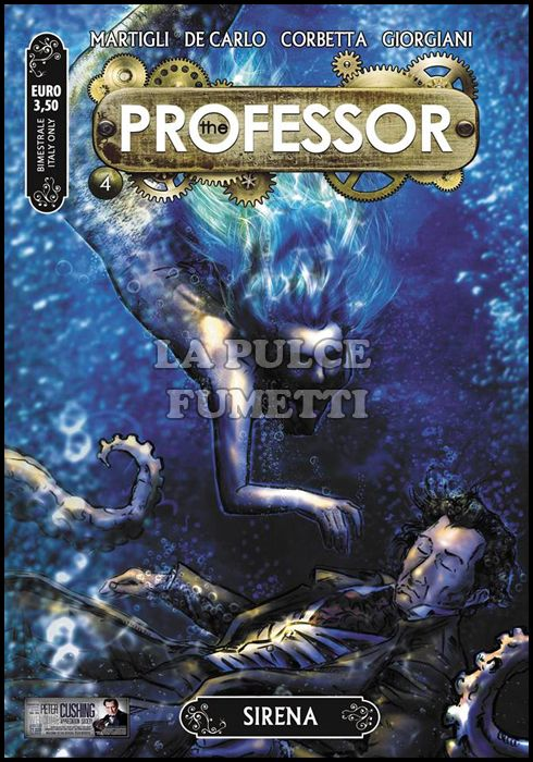 THE PROFESSOR #     4: SIRENA