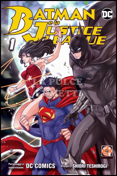 MIRAI COLLECTION #    32 - BATMAN E LA JUSTICE LEAGUE