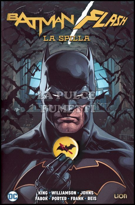 DC ABSOLUTE - BATMAN/FLASH: LA SPILLA - COVER BATMAN