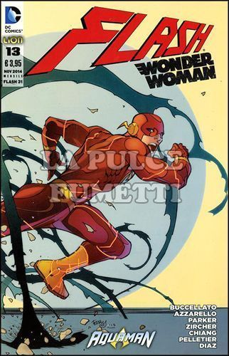 FLASH #    31 - FLASH/WONDER WOMAN  13