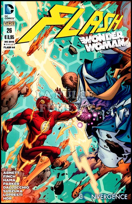 FLASH #    44 - FLASH/WONDER WOMAN  26 - CONVERGENCE