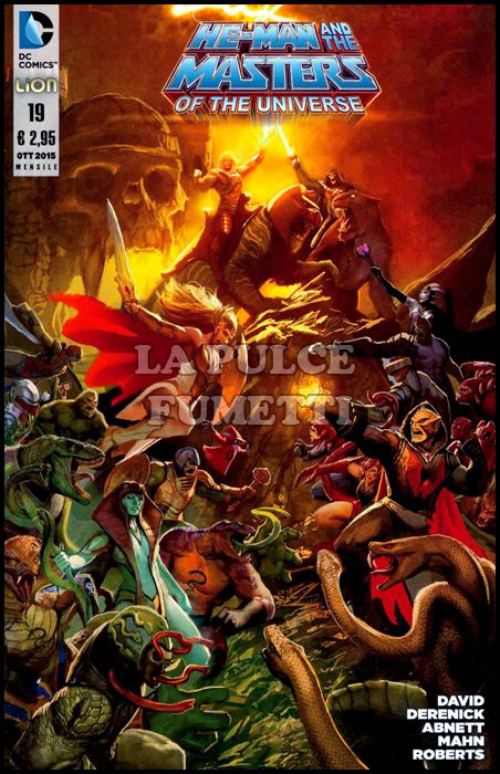 HE-MAN AND THE MASTERS OF THE UNIVERSE #    19