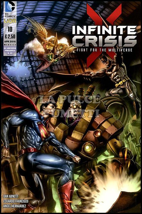 DC UNIVERSE PRESENTA #    40 - INFINITE CRISIS: FIGHT FOR THE MULTIVERSE 10