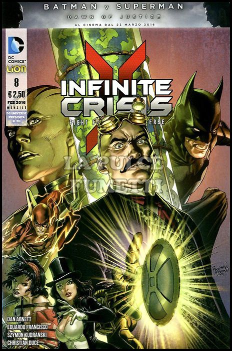 DC UNIVERSE PRESENTA #    38 - INFINITE CRISIS: FIGHT FOR THE MULTIVERSE 8