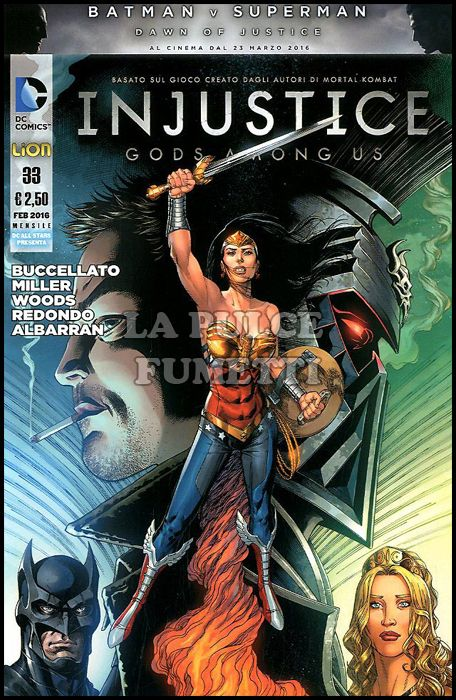 DC ALL STAR PRESENTA #    33 - INJUSTICE: GOD AMONG US 33