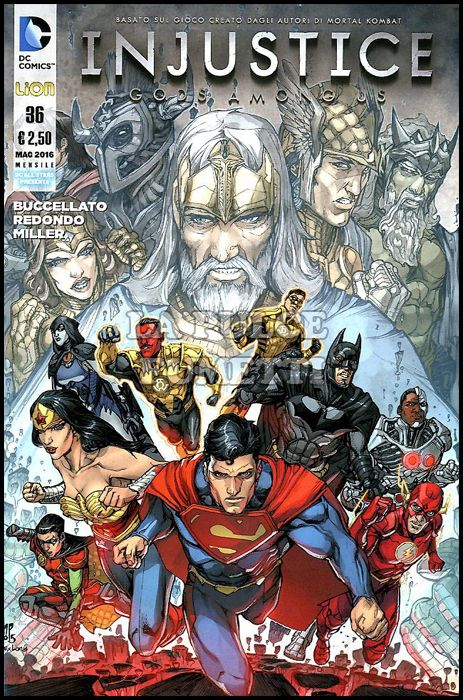 DC ALL STAR PRESENTA #    36 - INJUSTICE: GOD AMONG US 36