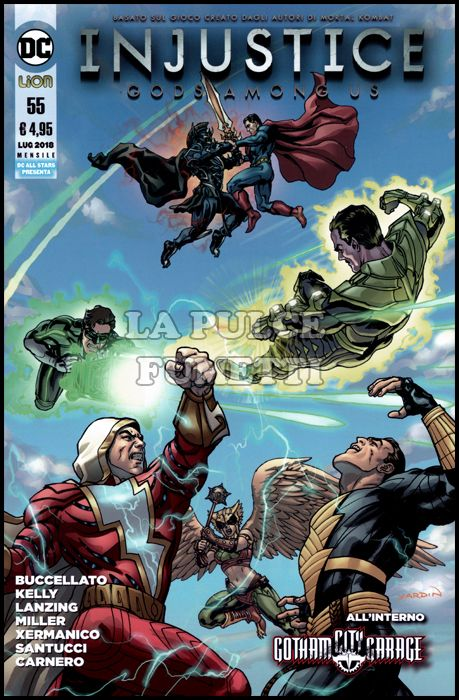 DC ALL STAR PRESENTA #    55 - INJUSTICE: GOD AMONG US 55