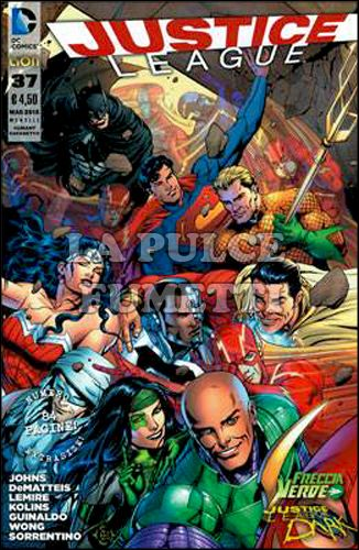 JUSTICE LEAGUE COFANETTO NEW 52 #     4
