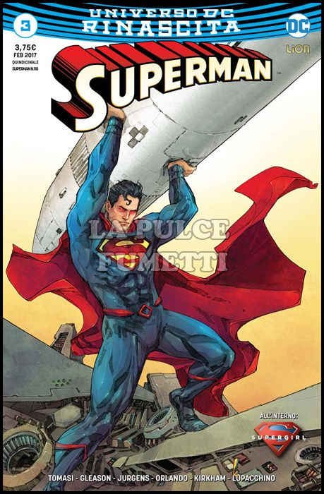SUPERMAN #   118 - SUPERMAN 3 - ULTRAVARIANT - RINASCITA