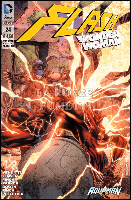 FLASH #    42 - FLASH/WONDER WOMAN  24
