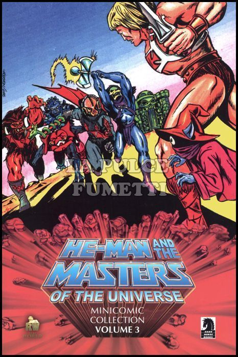 HE-MAN AND THE MASTERS OF THE UNIVERSE MINICOMIC COLLECTION #     3