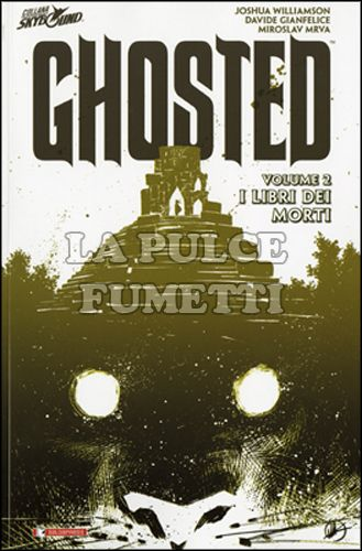 GHOSTED VOLUME #     2: I LIBRI DEI MORTI