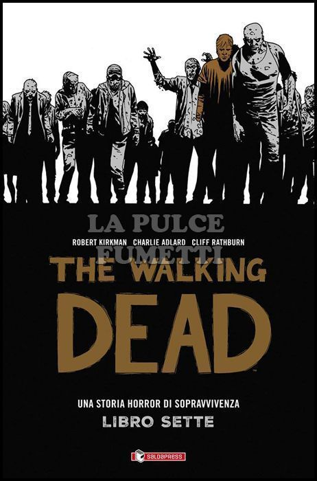 WALKING DEAD BOOK HARDCOVER #     7