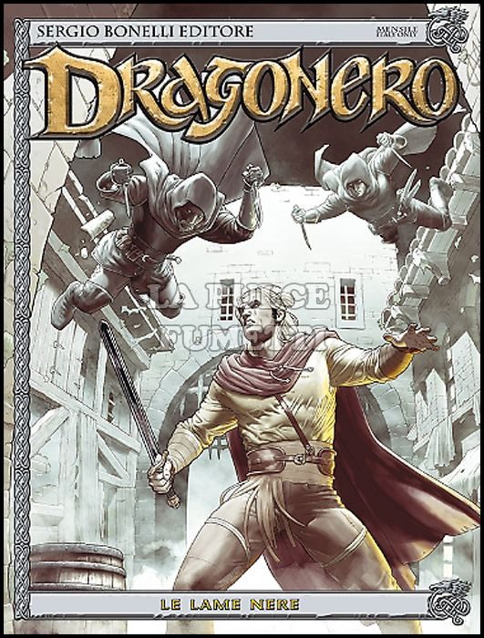 DRAGONERO #    36: LE LAME NERE