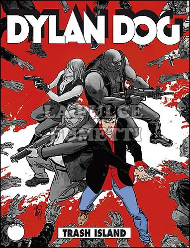 DYLAN DOG ORIGINALE #   328: TRASH ISLAND