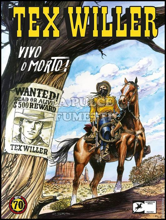 TEX WILLER #     1: VIVO O MORTO!