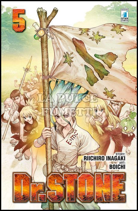 DRAGON #   252 - DR. STONE 5